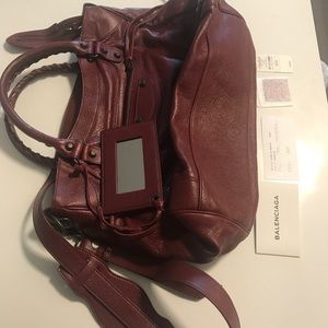 Balenciaga Arena Leather Classic Velo Bag